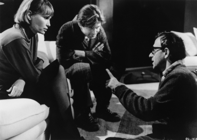 Woody Allen, Mia Farrow, Alec Baldwin