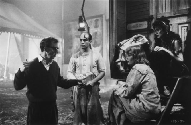 Woody Allen, John Malkovich, Madonna
