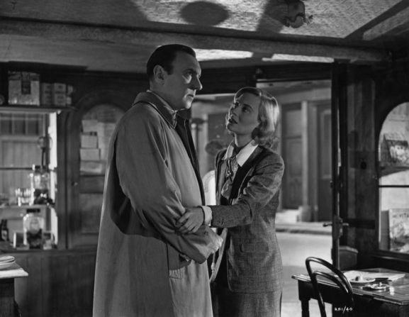 Michèle Morgan, Ralph Richardson