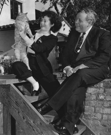 Charles Laughton, Elsa Lanchester