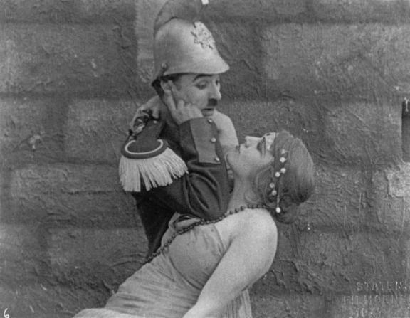 Charles Chaplin, Edna Purviance
