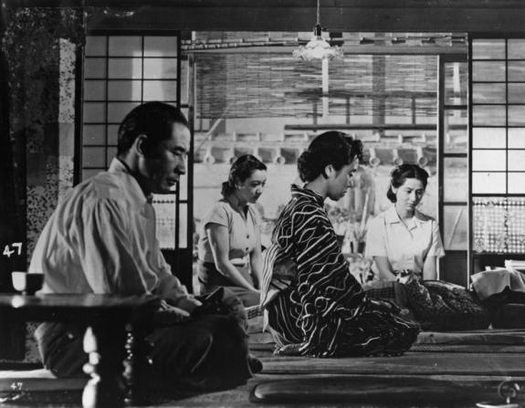 Sô Yamamura, Setsuko Hara, Haruko Sugimura, Kyôko Kagawa