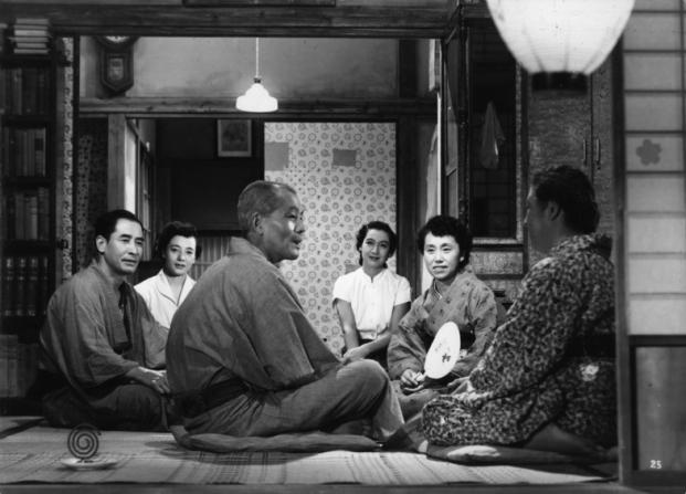 Sô Yamamura, Chishu Ryu, Setsuko Hara, Haruko Sugimura, Chieko Higashiyama