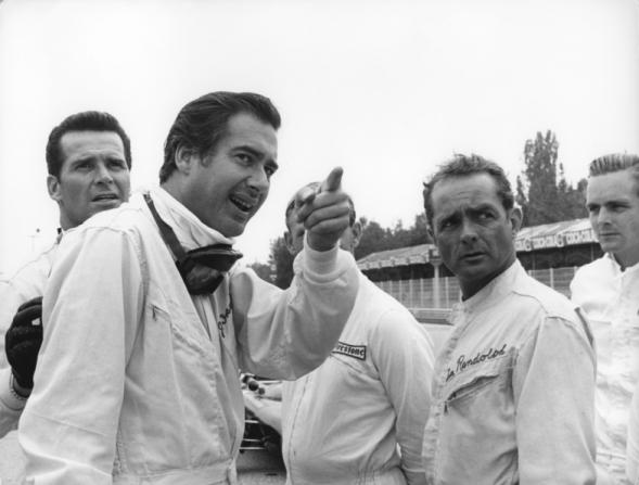 James Garner, Phil Hill, John Frankenheimer