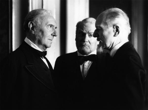 Ralph Richardson, Laurence Olivier, John Gielgud