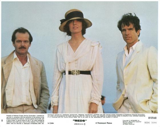 Jack Nicholson, Warren Beatty, Diane Keaton