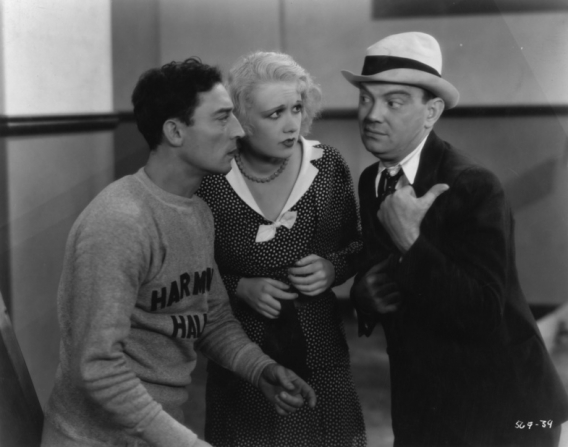 Buster Keaton, Anita Page, Cliff Edwards