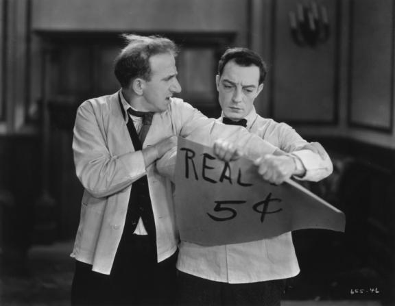 Jimmy Durante, Buster Keaton