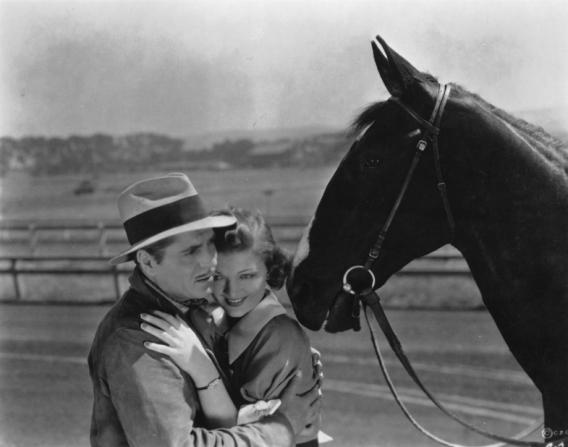 Warner Baxter, Myrna Loy