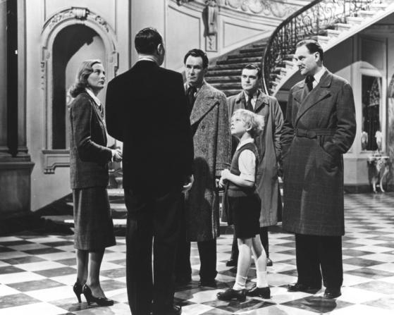 Bobby Henrey, Ralph Richardson, Michèle Morgan, Jack Hawkins, Denis O'dea, Bernard Lee