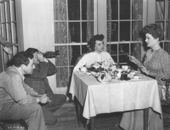 Gregg Toland, William Wyler, Teresa Wright, Bette Davis