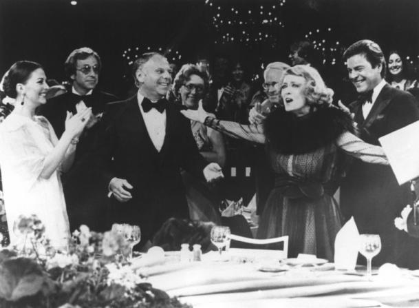 Bette Davis, Natalie Wood, Robert Wagner