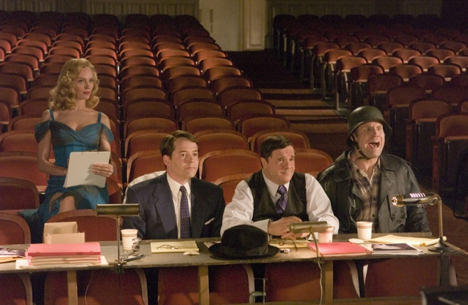 Matthew Broderick, Uma Thurman, Nathan Lane, Will Ferrell