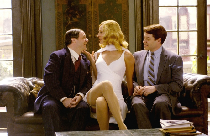 Matthew Broderick, Uma Thurman, Nathan Lane