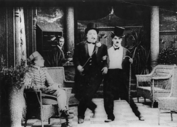 Roscoe Arbuckle, Charles Chaplin