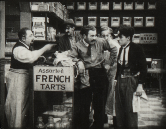Fritz Schade, Edgar Kennedy, Charles Chaplin
