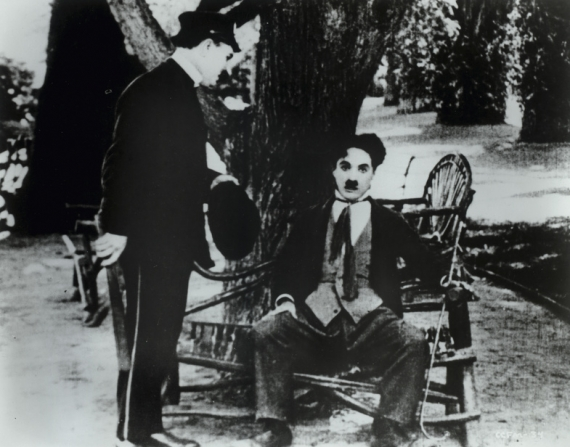 Sydney Chaplin, Charles Chaplin
