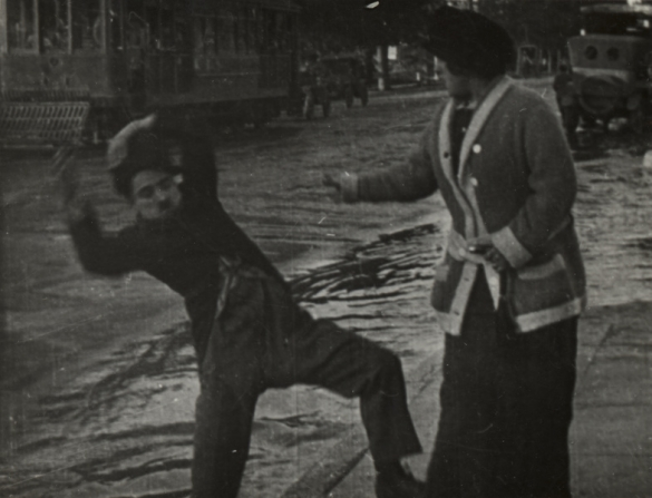 Charles Chaplin, Emma Clifton