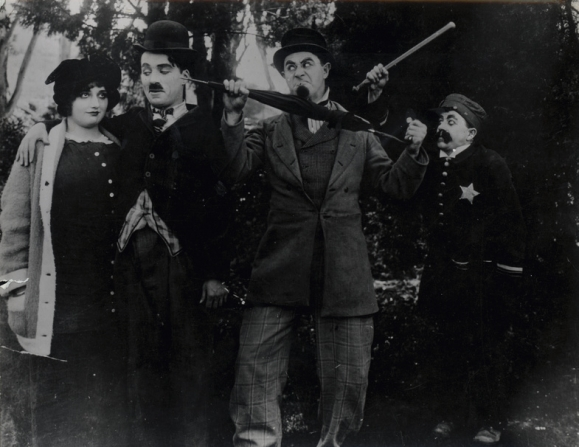 Emma Clifton, Charles Chaplin, Ford Sterling, Chester Conklin