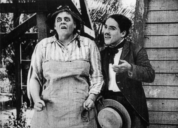 Marie Dressler, Charles Chaplin