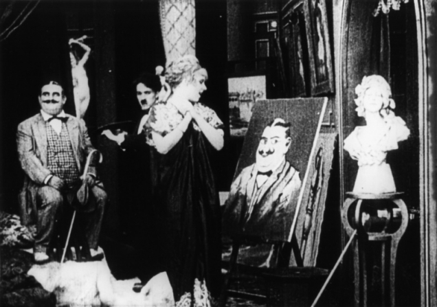 Charles Chaplin, Cecile Arnold, Fritz Schade