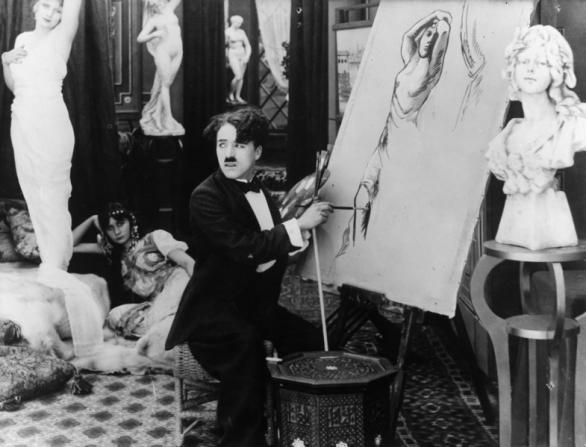 Charles Chaplin, Cecile Arnold, Vivian Edwards