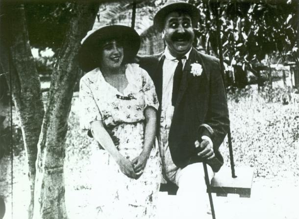 Mabel Normand, Mack Swain
