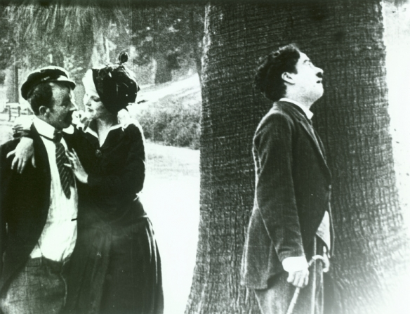 Chester Conklin, Cecile Arnold, Charles Chaplin