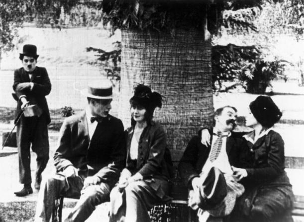 Charles Chaplin, Vivian Edwards, Chester Conklin, Cecile Arnold