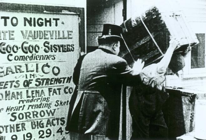 Fritz Schade, Charles Chaplin