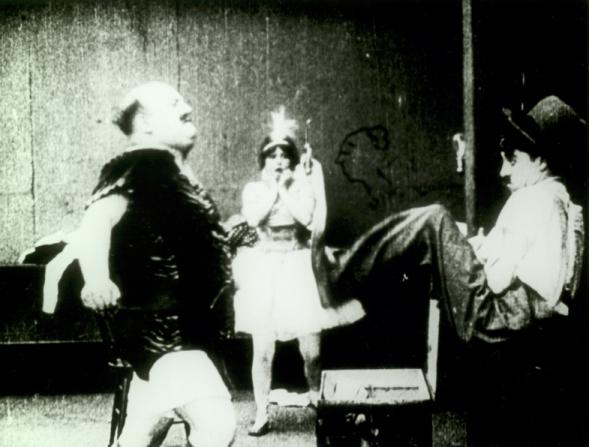 Fritz Schade, Gene Marsh, Charles Chaplin