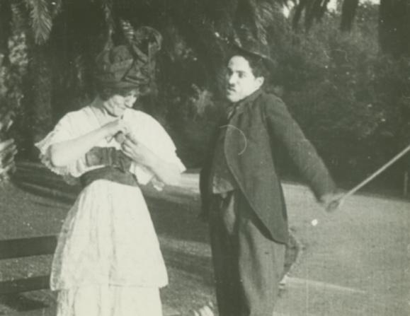 Emma Clifton, Charles Chaplin