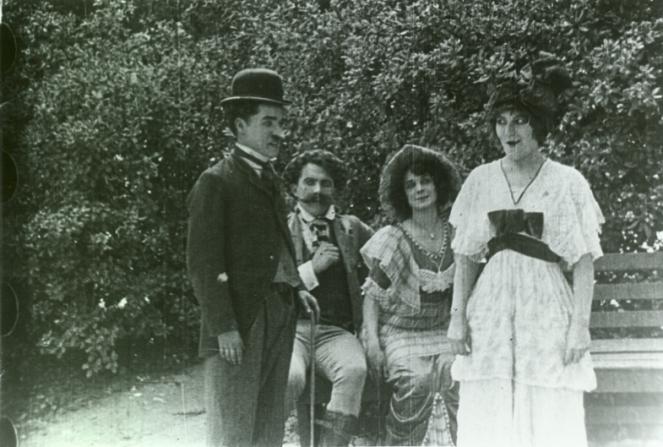Charles Chaplin, Edgar Kennedy, Minta Durfee, Emma Clifton
