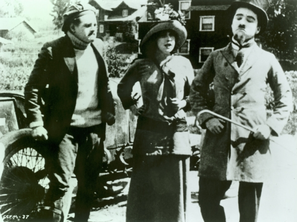 Harry McCoy, Mabel Normand, Charles Chaplin