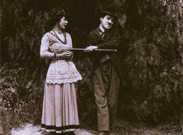Minta Durfee, Charles Chaplin