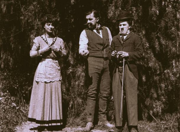 Minta Durfee, Edgar Kennedy, Charles Chaplin