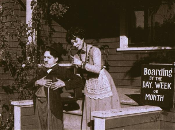 Charles Chaplin, Minta Durfee
