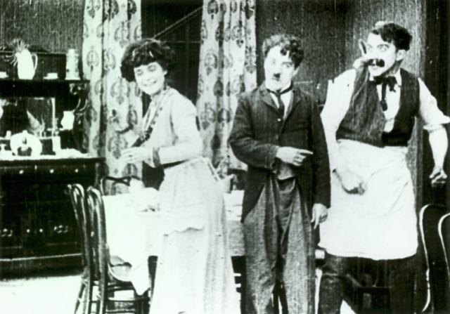 Minta Durfee, Charles Chaplin, Edgar Kennedy