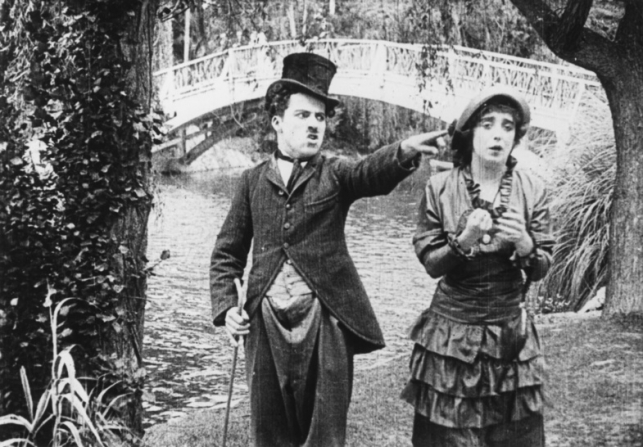 Charles Chaplin, Mabel Normand