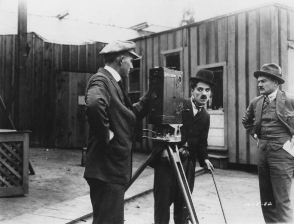 Charles Chaplin, Henry Lehrman