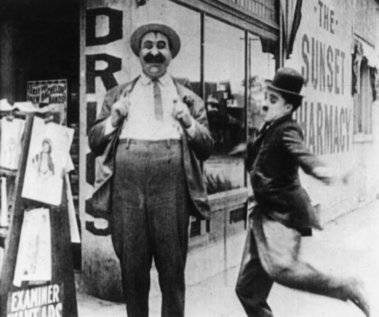 Mack Swain, Charles Chaplin