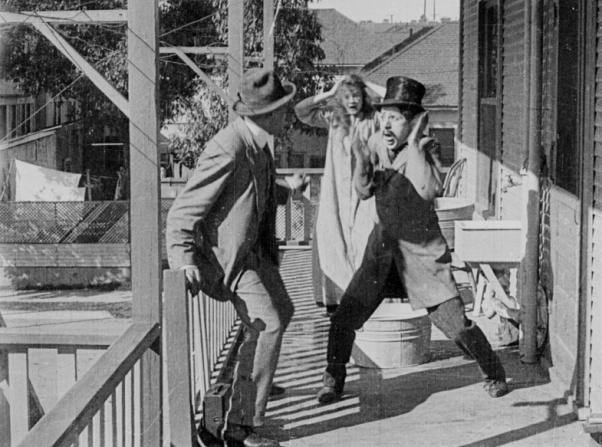 Henry Lehrman, Charles Chaplin
