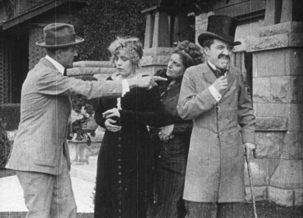 Henry Lehrman, Virginia Kirtley, Alice Davenport, Charles Chaplin