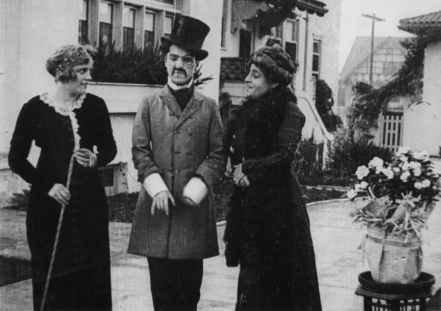 Virginia Kirtley, Charles Chaplin, Alice Davenport
