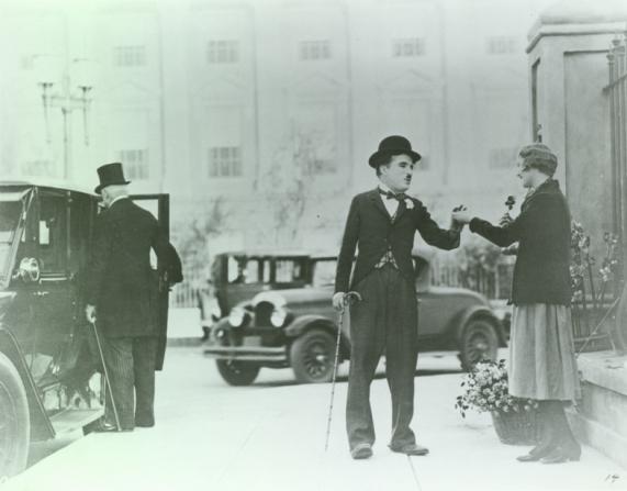 Charles Chaplin, Virginia Cherrill