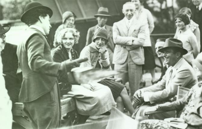 Charles Chaplin, Virginia Cherrill, Douglas Fairbanks Sr