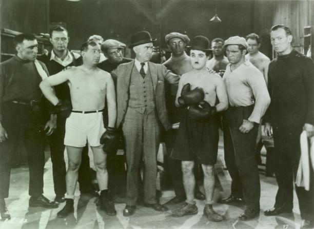 Hank Mann, Charles Chaplin