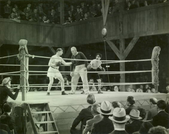 Hank Mann, Eddie Baker, Charles Chaplin