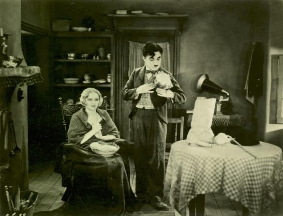 Virginia Cherrill, Charles Chaplin