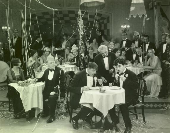 Harry Myers, Charles Chaplin